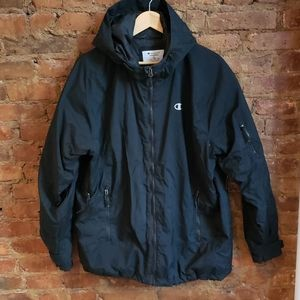 Champion Hooded Nylon Jacket